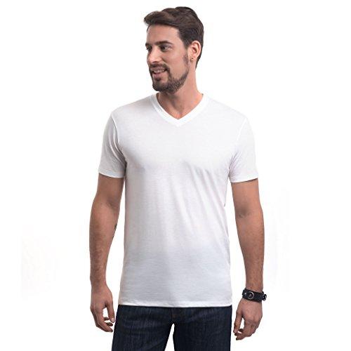 - Truth Alone Clothing Grab & Go V-Neck Tee Shirt, 100% Peruvian Organic Pima Cotton,