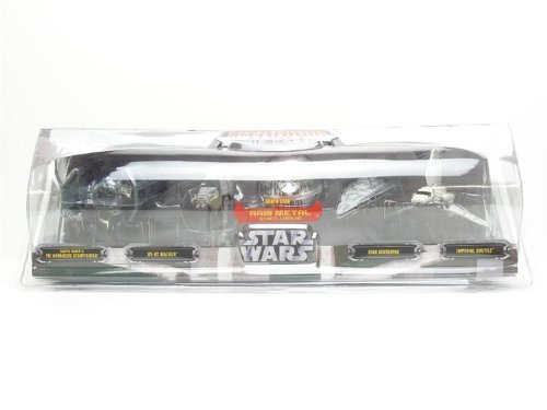 (Star Wars Exclusive Titanium Series Die Cast Metal 5 Pack with Exclusive Raw Metal Death Star)