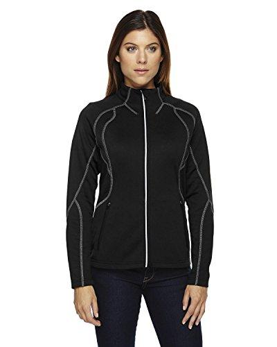 Ladies North End - North End Gravity Ladies' Performance Fleece Jacket>2XL BLACK 78174