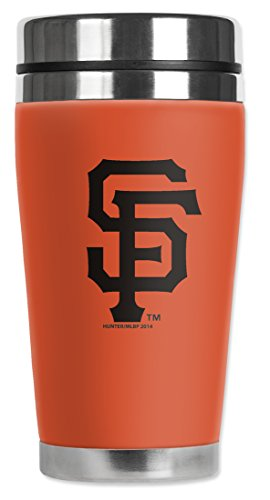 MLB - San Francisco Giants - Mugzie® brand 16-Ounce Travel Mug with Insulated Wetsuit Cover
