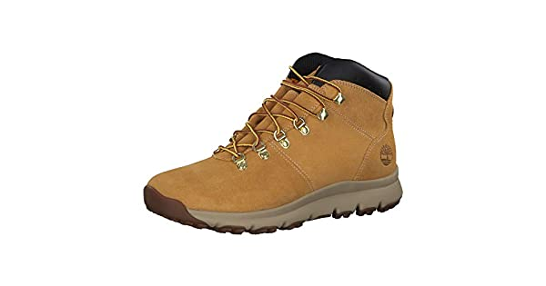 Timberland Men/'s World Hiker Mid TB0A1QEW231 Wheat Suede