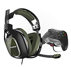 The ASTRO A40 TR Headset and MixAmp M80 bundle is designed to provide Xbox One gamers with total control over their gaming audio experience. The ASTRO A40 TR is a premier gaming headset for professional gamers, including esports athletes, con...