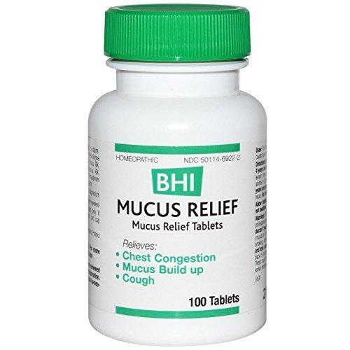 (Heel BHI, Mucus Relief, 100 Tablets by Heel)