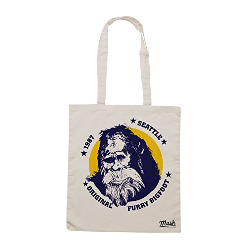 Borsa BIGFOOT HARRY AND THE HENDERSONS 80'S - Sand - FILM by Mush Dress Your Style