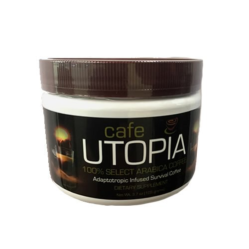 Cafe UTOPIA Tub – Natural Weight Loss – Dietary Supplement – Non-GMO – Boost Metabolism – Essential Vitamins