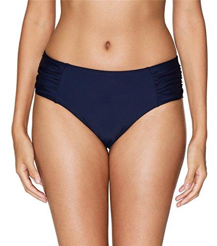 ALove Women's Beach Board Short Bikini Tankini Bottom Swim Briefs Navy Medium
