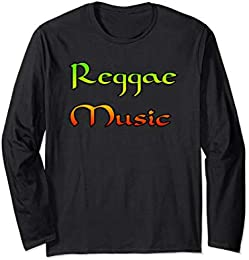 Reggae Music Long Sleeve T-shirt