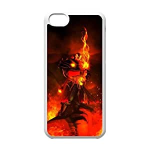 Defense Of The Ancients Dota 2 EMBER SPIRIT iPhone 5c Cell Phone Case White ASD3820990