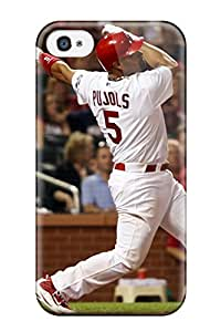 DanRobertse Design High Quality St_ Louis Cardinals Cover Case With Excellent Style For Iphone 4/4s