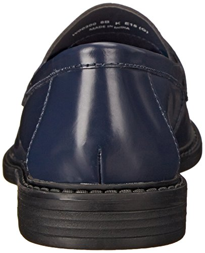 Cole Haan Womens Nypa Campus Öre Loafer Blazer Blå