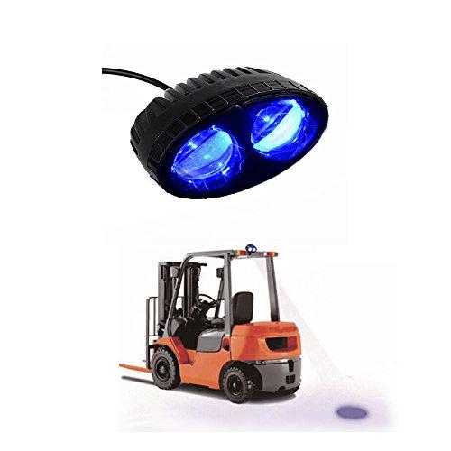 Led Fork Lift Lights : Aomax w cree blue led forklift safety light spot