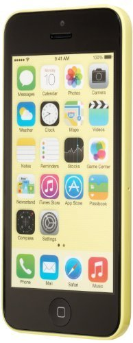 Apple iPhone 5C Yellow 8GB Unlocked GSM Smartphone (Renewed) (Apple Iphone 5c 8 Gb Yellow Unlocked)
