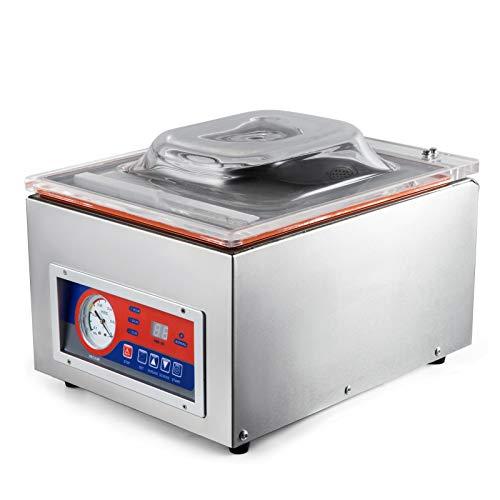 BestEquip Vacuum Sealer Machine Commercial Kitchen Food Chamber Vacuum Sealer 110V Packaging Machine Sealer