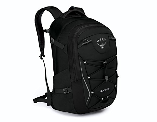 Osprey Daypack - Osprey Packs 10000559 Quasar Daypack, Black
