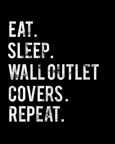 Eat Sleep Wall Sconces Repeat: 2020 Monthly Planner For Wall Sconces Collector Book 8 in x 10 in 110 Pages Notebook