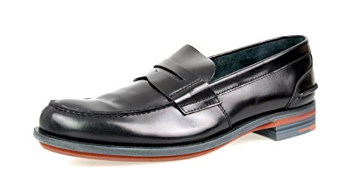 Prada Heren 2de034 Lederen Zakelijke Schoenen