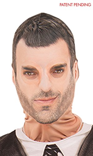 Faux Real Unisex-Adult's Pretty Boy Mask, White, One Size]()