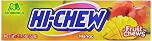 Morinaga Hi-Chew Mango Fruit Chews, 1.76-Ounce Packages (Pack of 20)