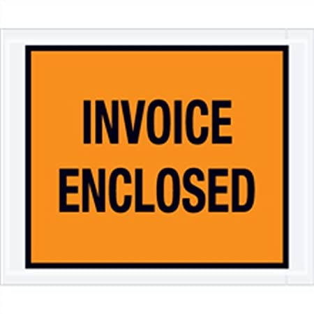 Amazoncom Invoice Enclosed Packing List Envelopes Full Face Back - Invoice enclosed pouches
