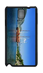 thinnest covers sailboats turkey vacation PC Black case/cover for Samsung Galaxy Note 3 N9000