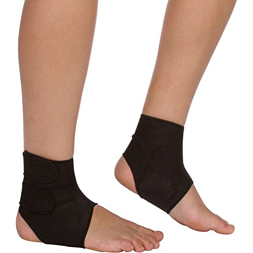 Magnetic Ankle Brace   Self Heating Compression Support To Improve  Circulation   Reduce Pain Due To Tendonitis, Plantar Fasciitis U0026 Arthritis    Soft, ...