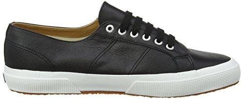 Superga Unisex Adulti 2750 Sneaker Nappaleau Nero (nero / Bianco)
