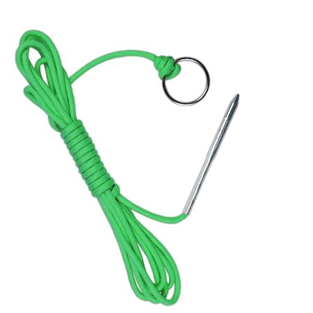 PARACORD PLANET 550 lb Fish Holder with Metal Threading Needle and 1