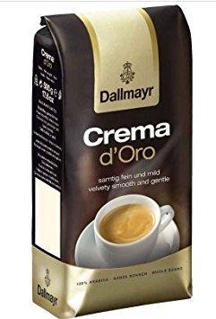 Dallmayr Crema D'oro Whole Beans Coffee 2 Packs X 17.6oz/500g