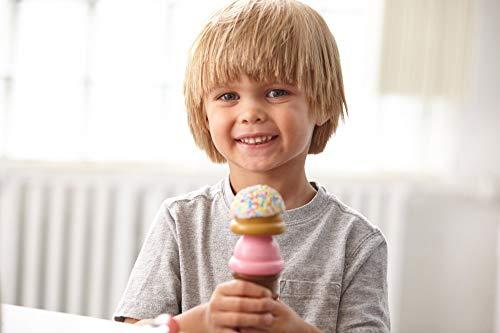 Melissa Doug Wooden Scoop Serve Ice Cream Counter Play