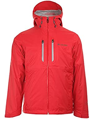Columbia Men's Northwest Traveler Interchange Jacket 1561301691 Bright Red SZ L