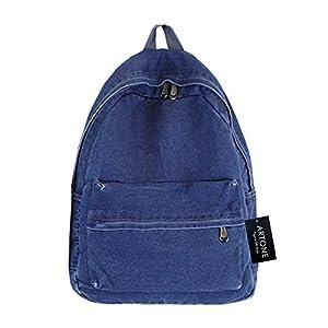 Artone Denim Modern Big Capacity Backpack School Daypack