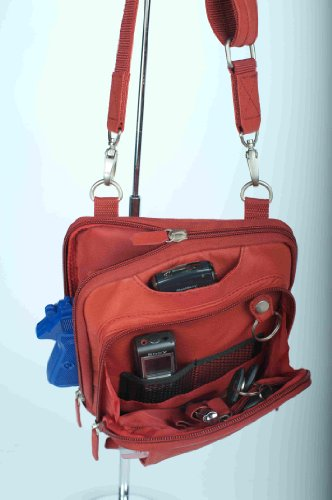 Gun Tote'n Mamas Concealed Carry Raven Shoulder Pouch (Red) from Gun Tote'n Mamas