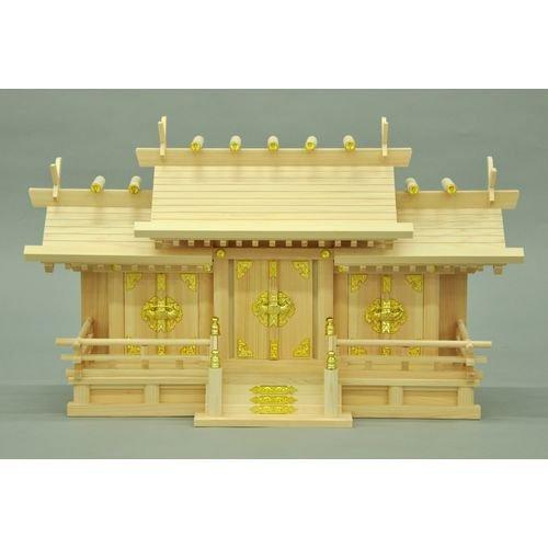 エイアイエス(AIS) 神棚 お札が簡単に入る 幸村三社中 国内製造 B077VNK4LH 中|幸村三社 中