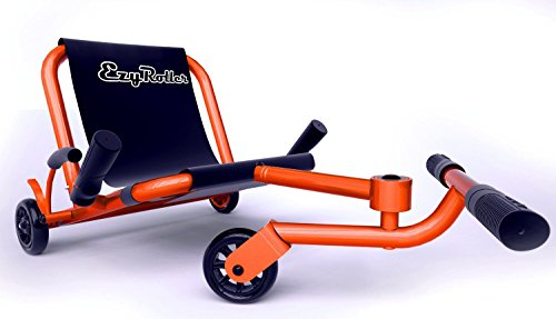 - Ezyroller Classic - Orange - Ride On for Children Ages 4+ Years Old - New Twist on Scooter - Kids Move Using Right-Left Leg Movements to Push Foot Bar - Fun Play and Exercise for Boys and Girls