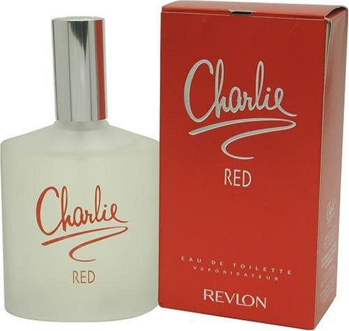 Charlie Red par Revlon pour les femmes, Eau de Toilette Vaporisateur, 3,4 once