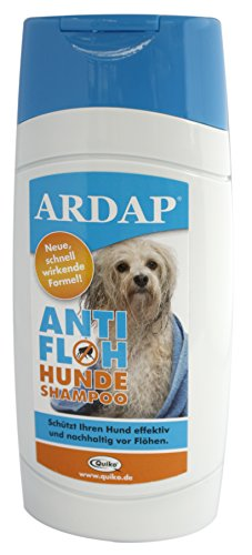 Quiko 077410 Ardap Anti Floh Shampoo für Hunde, 250 ml