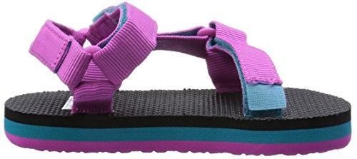 Teva Original Universal C's - Sandalias Deportivas de material sintético infantil Pink/Turquoise