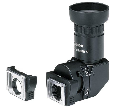 Canon Right Angle Viewfinder (Canon Angle Finder C for Canon EOS SLR Cameras)
