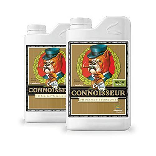 Advanced Nutrients Connoisseur Part - Advanced Nutrients pH Perfect Connoisseur COCO Grow Part A & B (1 Liter (A&B))