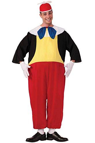 Tweedle Dum And Tweedle Dee Halloween Costumes (Forum Novelties Men's Tweedle Dee Costume, Red/Black/Yellow, Standard)
