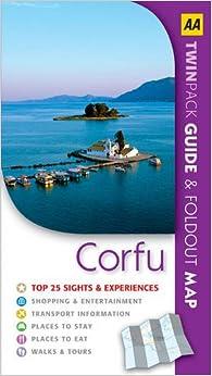 Corfu (AA TwinPacks) (AA Spiral Guides)