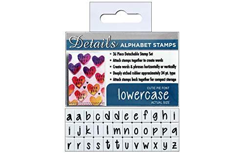 (Contact USA CU-08022 LC Cutie Pie Clickable Stamp Set)