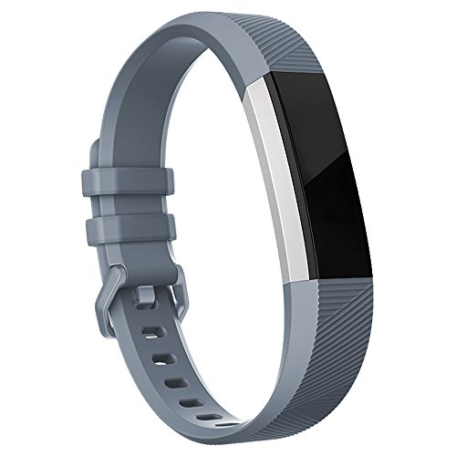 Fitbit Alta HR Bands Fitbit Alta Bands Grey Large,RedTaro Adjustable Replacement Accessory Bands/Straps/Bracelets for Fitbit Alta HR/Fitbit Alta for Women/Men(no Fitbit Fitness Trackers)