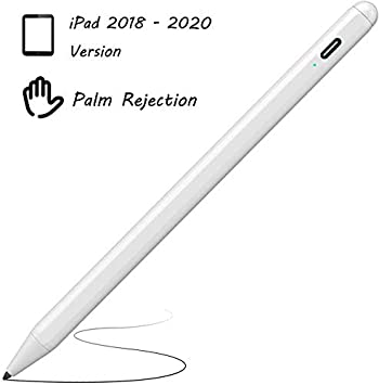 Palm Rejection Stylus Pen for Apple IPad,XIRON Active Stylus Compatible with (2018-2020) Apple iPad Pro 11 & 12.9 inch/iPad 7th Gen 10.2 inch/iPad 6th Gen/iPad Mini 5th Gen/iPad Air 3rd Gen