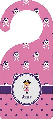 (YouCustomizeIt Pink Pirate Door Hanger (Personalized))