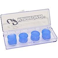 Protetor De Ouvido De Silicone - 4 Peças Hammerhead Unissex