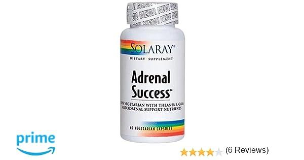 Adrenal Success 60 Cápsulas de Solaray Diseñada para Apoyar a Nuestro Organismo en Situaciones de Estrés y Ansiedad | Complemento Alimenticio a Base de ...