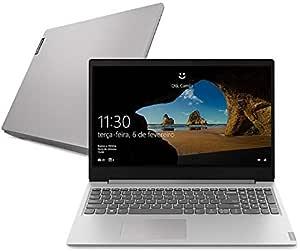 """Notebook Lenovo Ultrafino ideapad S145 i5 - 1035G1 8GB 1TB Windows 10 15.6"""" Dolby Audio Design Leve e Compacto, Prata"""
