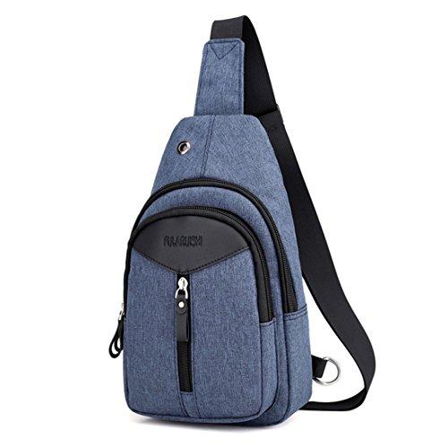 Azul Bolso hombre UNYU hombro al para fOx1aq