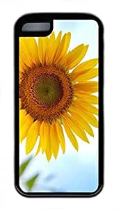 Custom Sunflower 2 Case For iPhone 5C Cover Designed by HnW Accessories